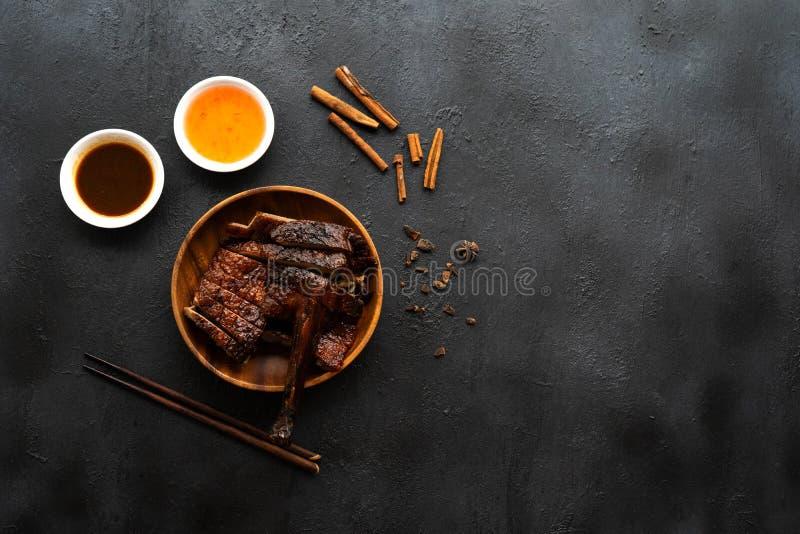 Anatra arrostita cinese fotografia stock