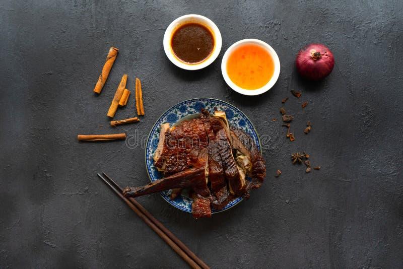 Anatra arrostita cinese fotografia stock libera da diritti