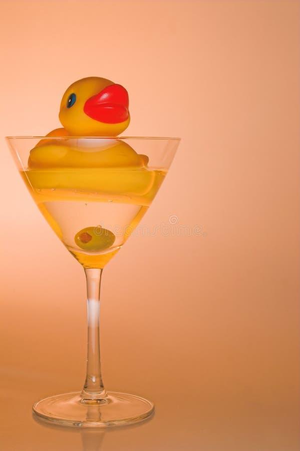 Anatra Martini immagini stock libere da diritti