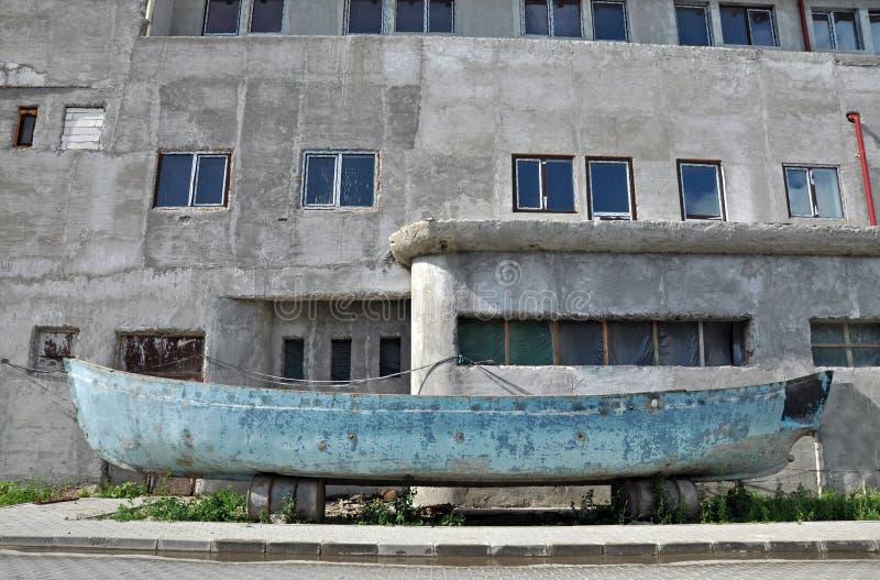 Anbandonedboot stock afbeeldingen