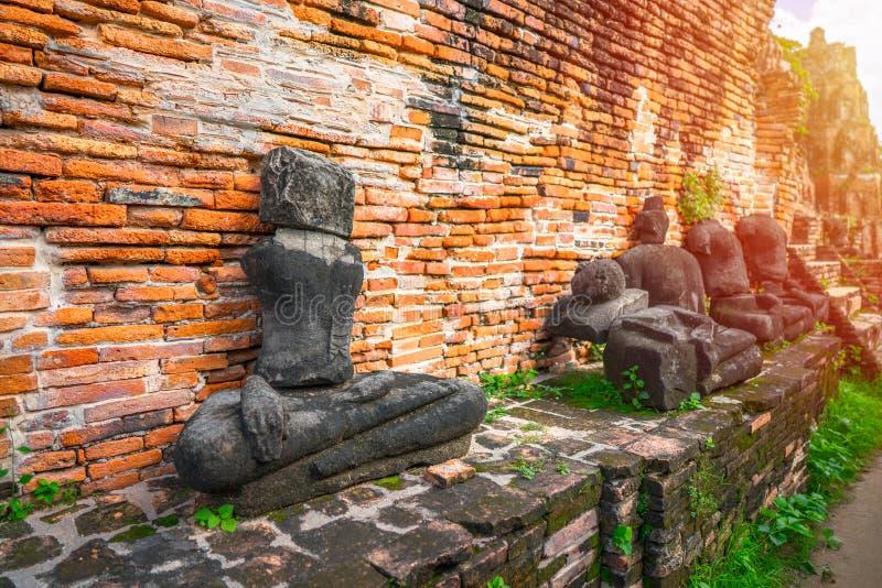 Anbetung von Thailand, Buddha-Statue, Geschichte von Thailand lizenzfreie stockfotografie