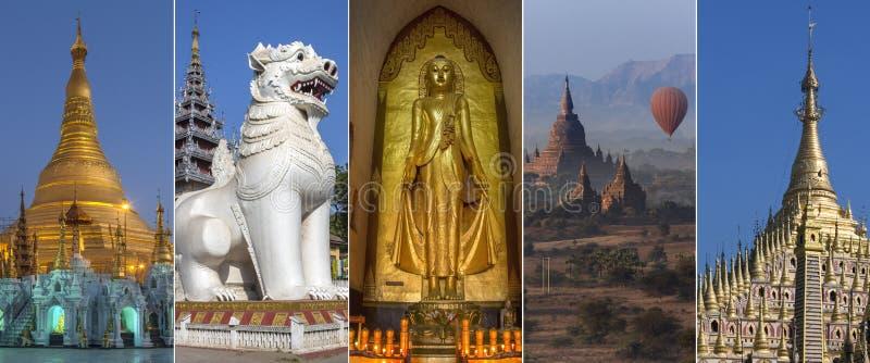 Anblick von Myanmar - Birma lizenzfreie stockfotos