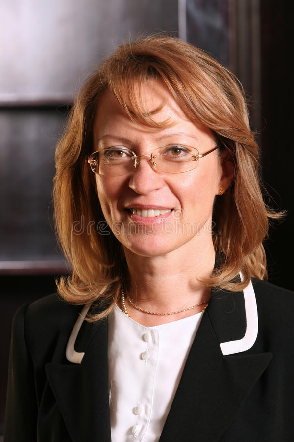 Anca Dumitru. And began work on the capital market in 1995, and two years later became general manager Rasdaq. After the merger of the Bucharest Stock Exchange royalty free stock photos