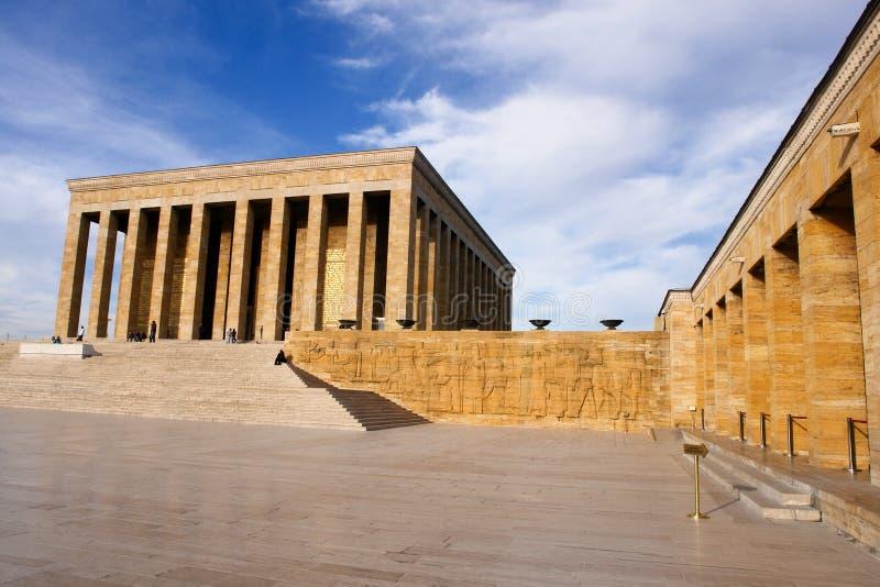 Ancara, mausoléu de Ataturk - Turquia fotografia de stock