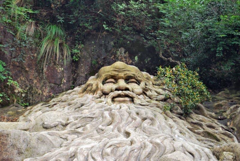 Ancestor. Pengzu ancestor,god of longevity royalty free stock photos