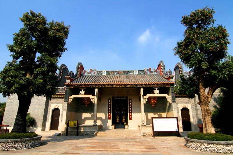 ancestralna chińska świątynia fotografia stock