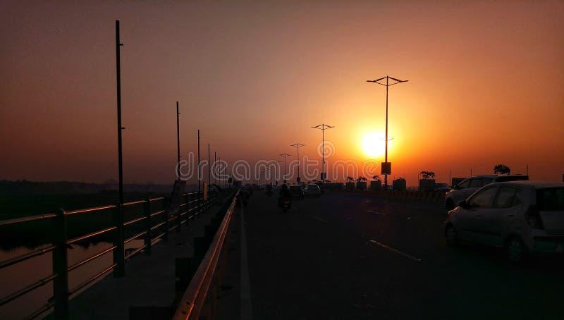 Anche Sun fotografie stock libere da diritti