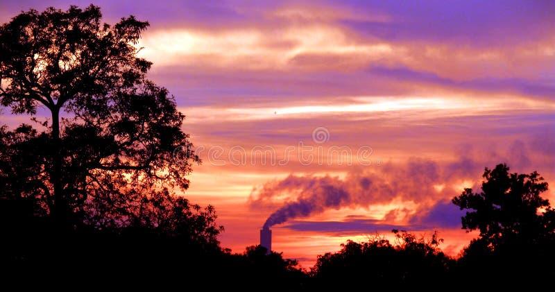 Anche/tramonto immagini stock libere da diritti