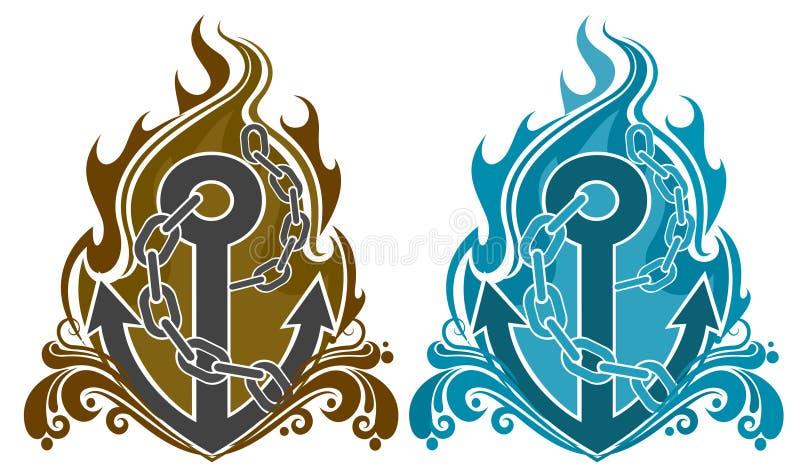 Anchor royalty free illustration