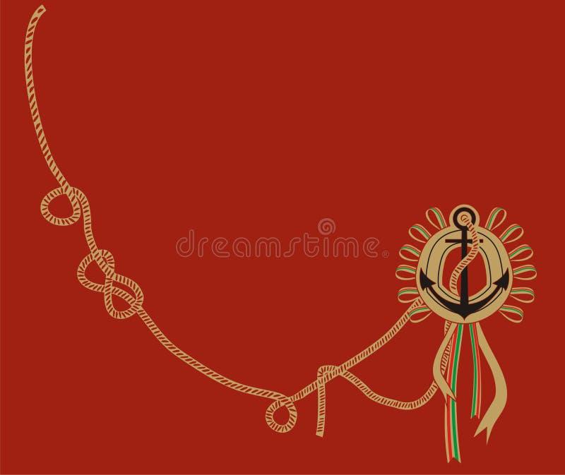 Download Anchor stock illustration. Image of navigation, shirt - 12307636