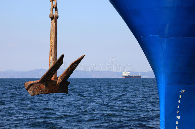 Download Anchor stock image. Image of front, rusty, metal, boat - 13979133
