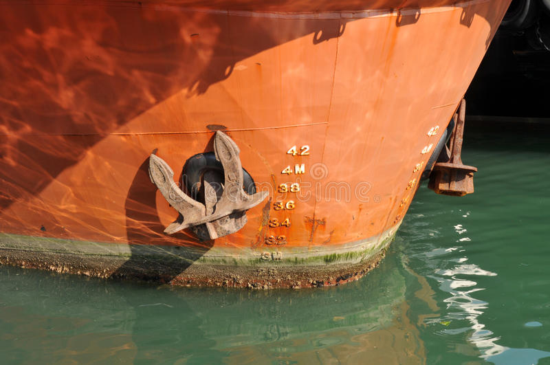 Download Anchor stock photo. Image of depth, metal, boats, anti - 26265802