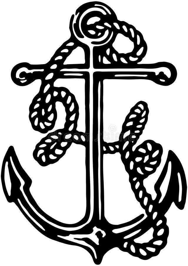 anchor illustration de vecteur