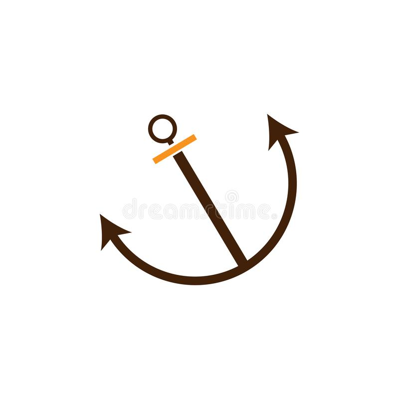 Anchor, connection icon. Element of Web Optimization icon for mobile concept and web apps. Detailed Anchor, connection icon can be. Used for web and mobile on royalty free illustration