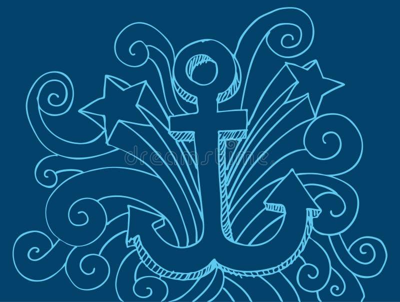 Download Anchor Drawing Royalty Free Stock Photo - Image: 14925215