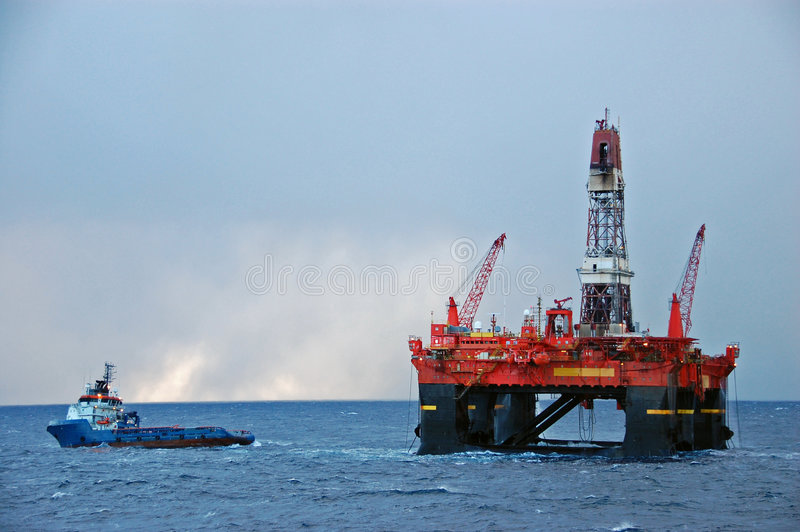 Download Anchor Handling Operation In The North Sea Stock Image - Image: 9293383
