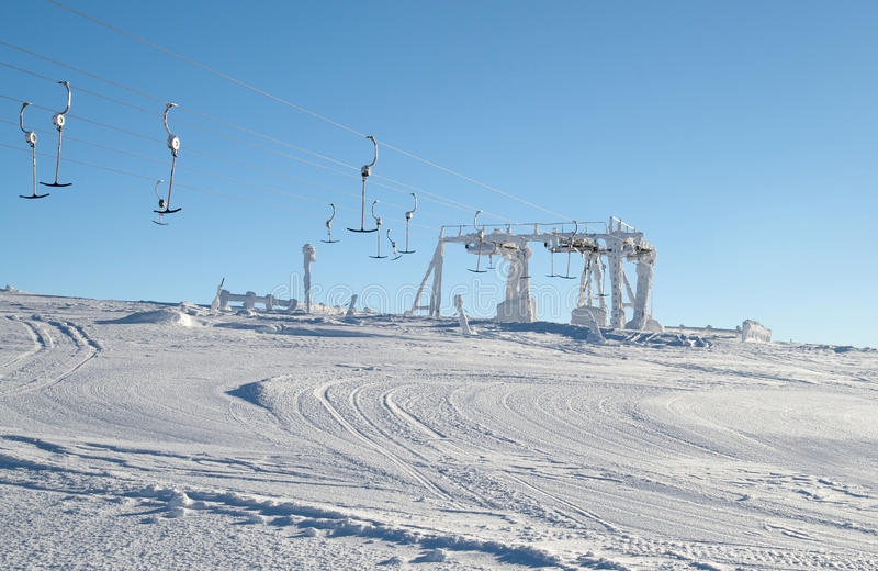 Download Anchor lift station stock image. Image of lift, peak - 30282941