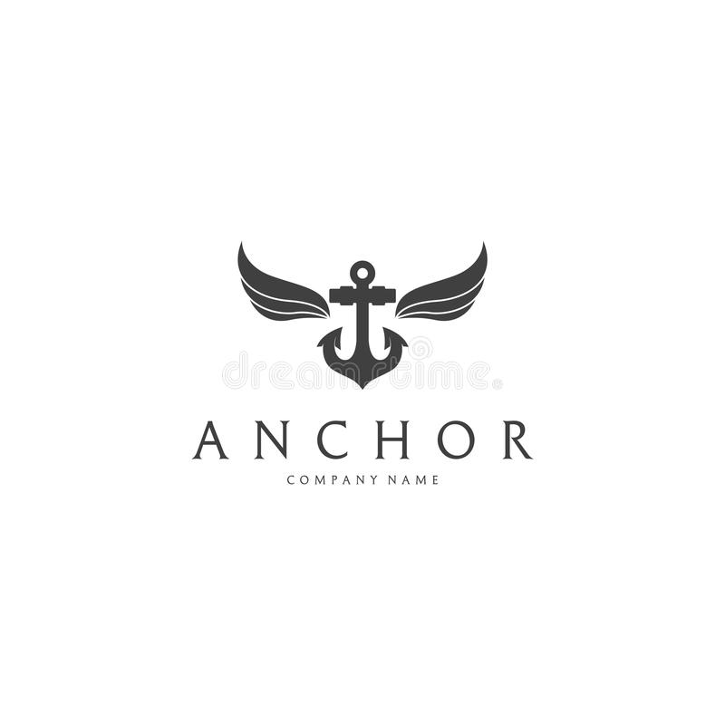 Anchor logo stock vector illustration of rope logotype 84247198 anchor logo thecheapjerseys Images