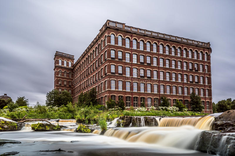 Anchor Mill royalty free stock photography