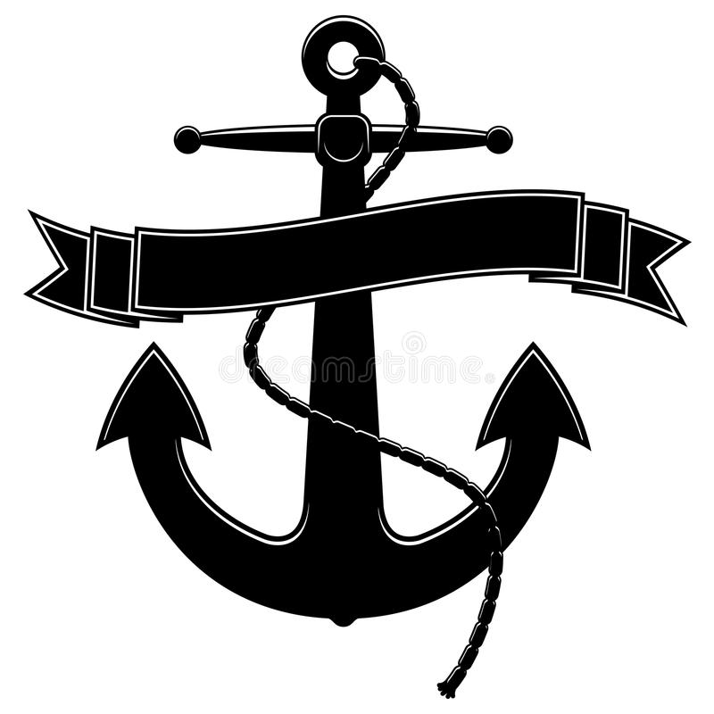 Free Anchor Template EPS Royalty Free Stock Image - 15636186