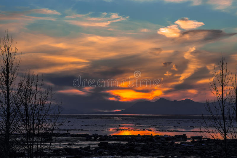Anchorage, Alaska fotos de stock royalty free