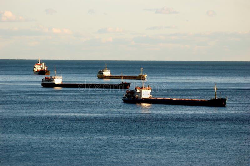 Anchorage at Yalta Ukraine royalty free stock images