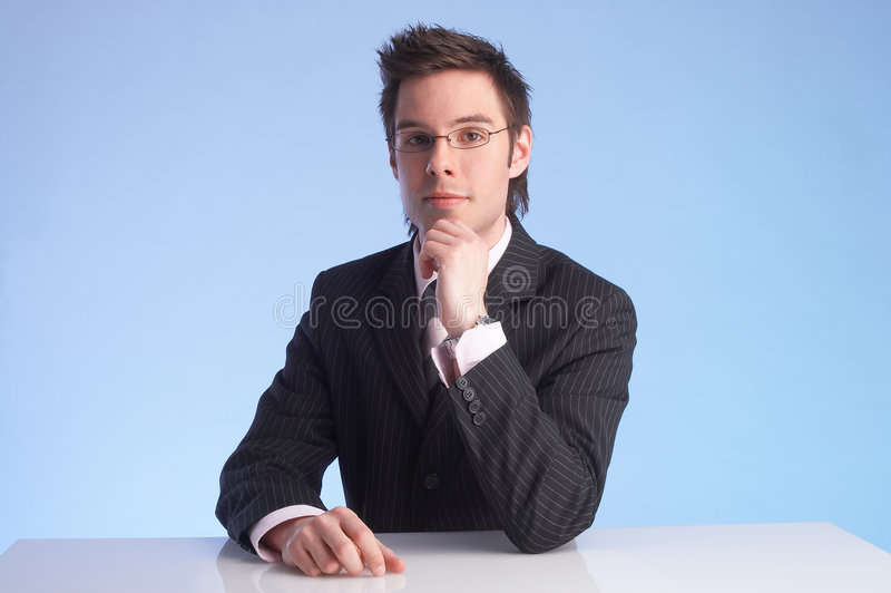 Download Anchorman stock photo. Image of male, portrait, advice - 713258