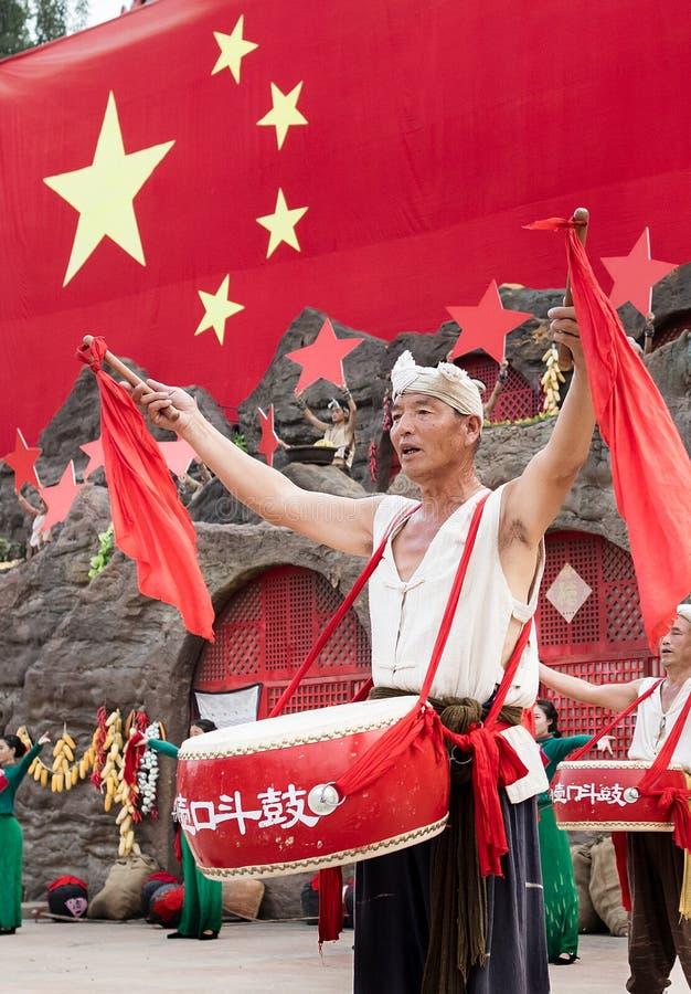 Ancião em China ocidental fotos de stock royalty free