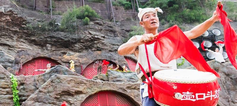 Ancião em China ocidental imagens de stock royalty free