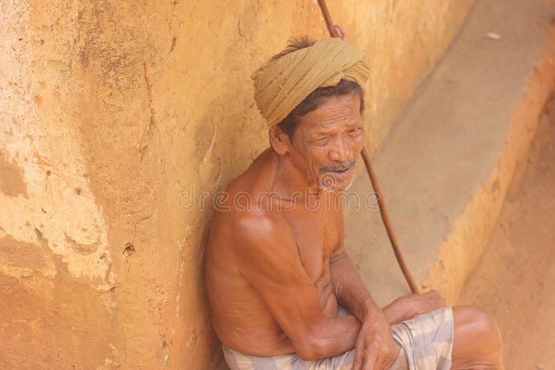 Ancião - Sri Lanka imagens de stock royalty free