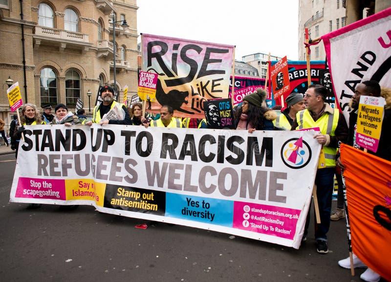 Anci rządowi protestujący przy Brytania Są Łamanego, wybór powszechny demonstracją w Londyn/Teraz fotografia stock