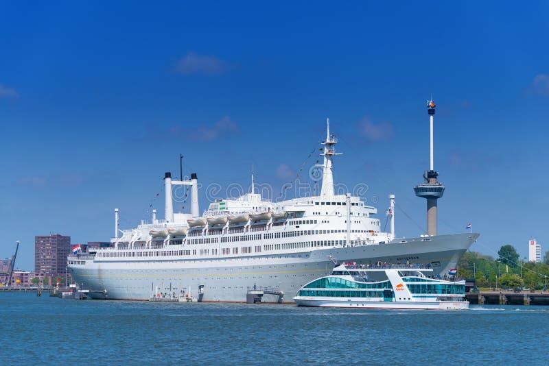 Ancien bateau de croisière solides solubles Rotterdam photographie stock libre de droits