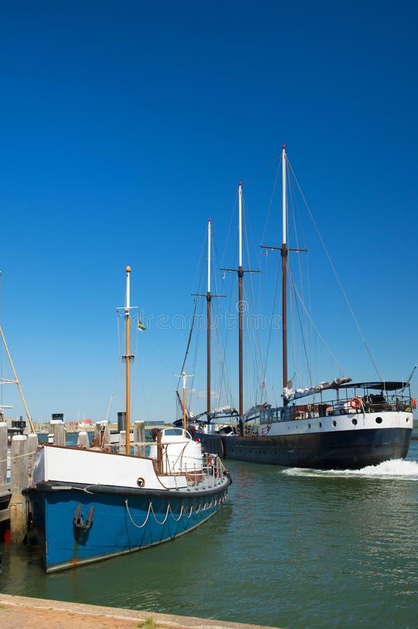 Ancien bateau hollandais photographie stock