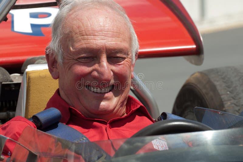 Ancien gestionnaire de Ferrari F1, Amon de Chris photo stock