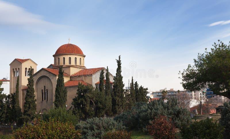 Ancien Grecki kościół zdjęcia royalty free