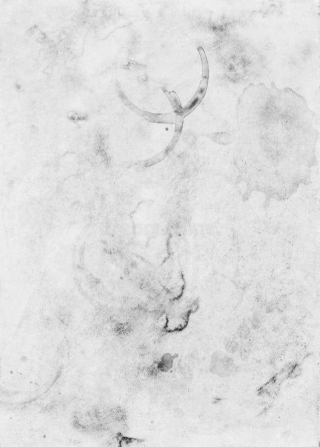 Ancien motif de feuille de papier vintage coloré arrière-plan conceptuel image libre de droits