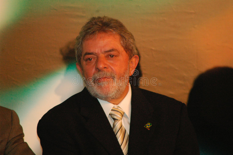 ancien président du Brésil image libre de droits