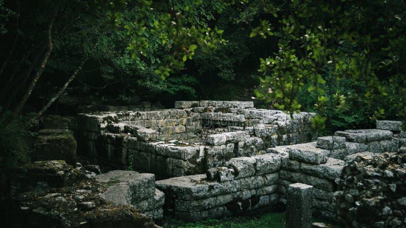 Ancien-Ruinen von Butrint Albanien stockfoto