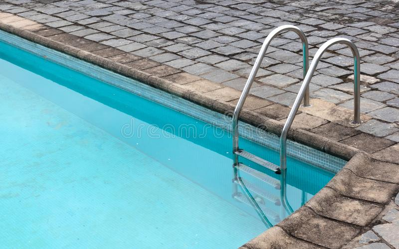 Ancienne piscine vierge à Madagascar photographie stock