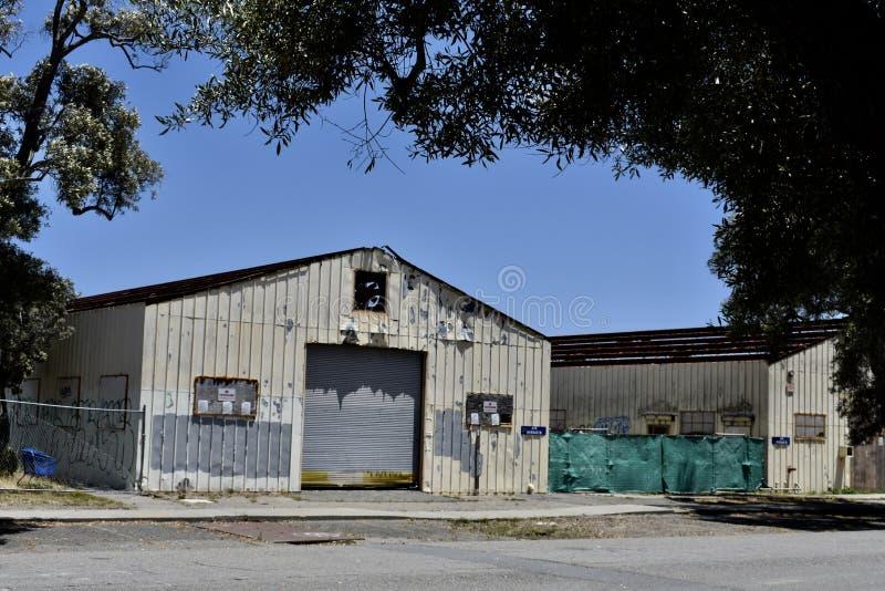 Anciens bâtiments d'US Navy abandonnés et oubliés, 2 images libres de droits