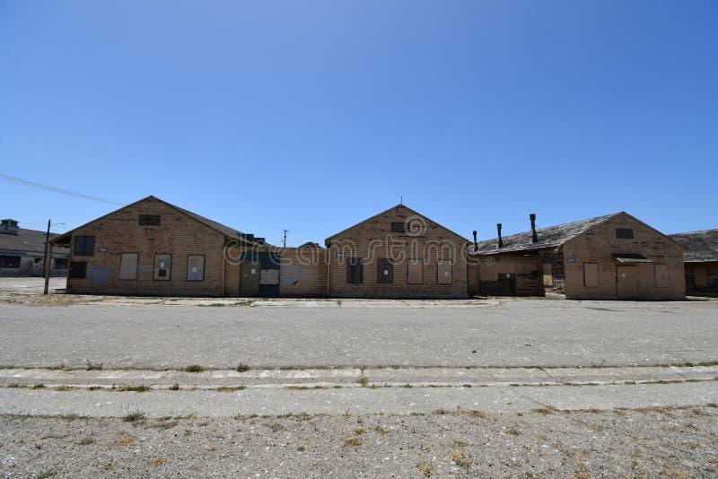 Anciens bâtiments d'US Navy abandonnés et oubliés, 6 photos stock