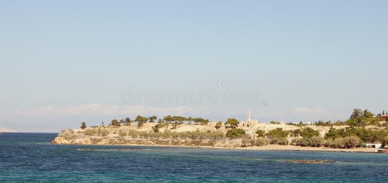 Download Ancient Aegina panorama stock image. Image of harbour - 27981219