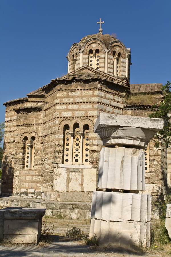Download Ancient Agora At Athens City In Greece Stock Photo - Image: 14304762