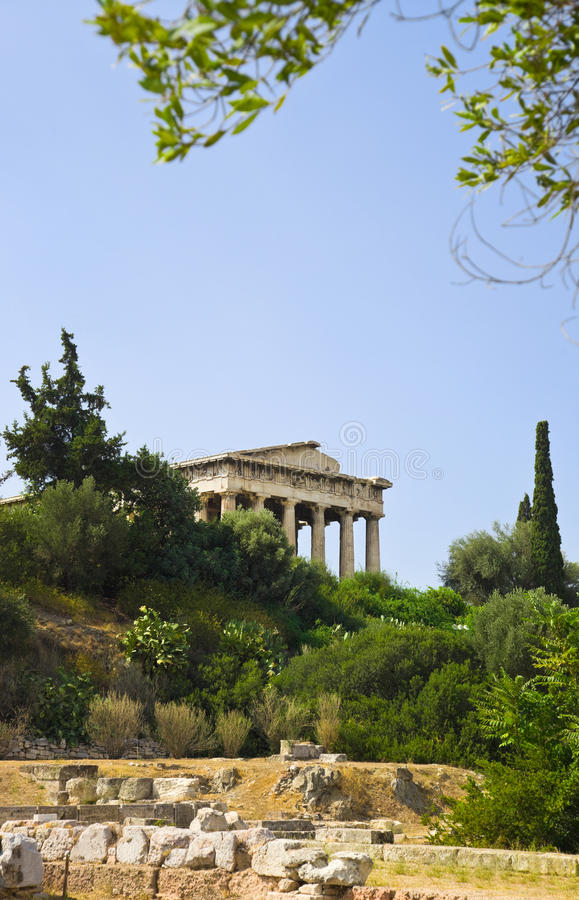 Download Ancient Agora At Athens, Greece Stock Image - Image: 18730163