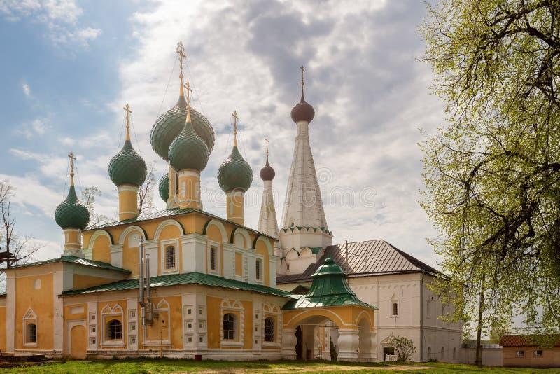 Alekseevsky monastery in Uglich stock photography