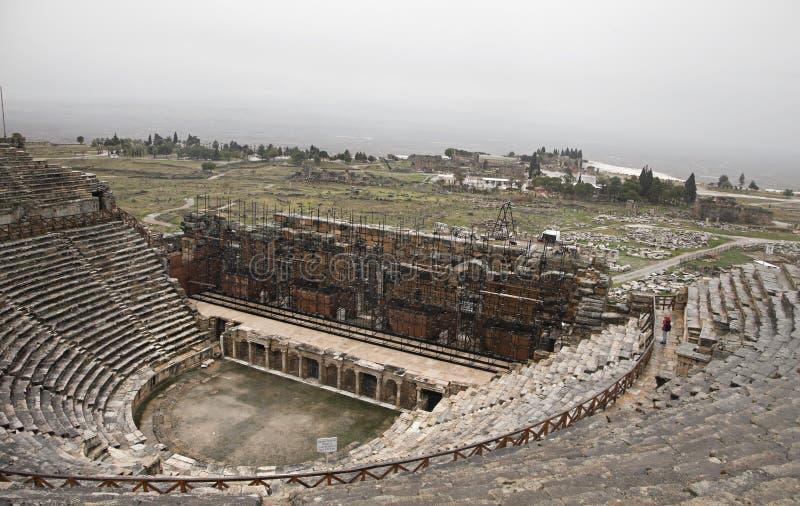 Download Ancient amphiteater stock photo. Image of pamukkale, past - 31786652