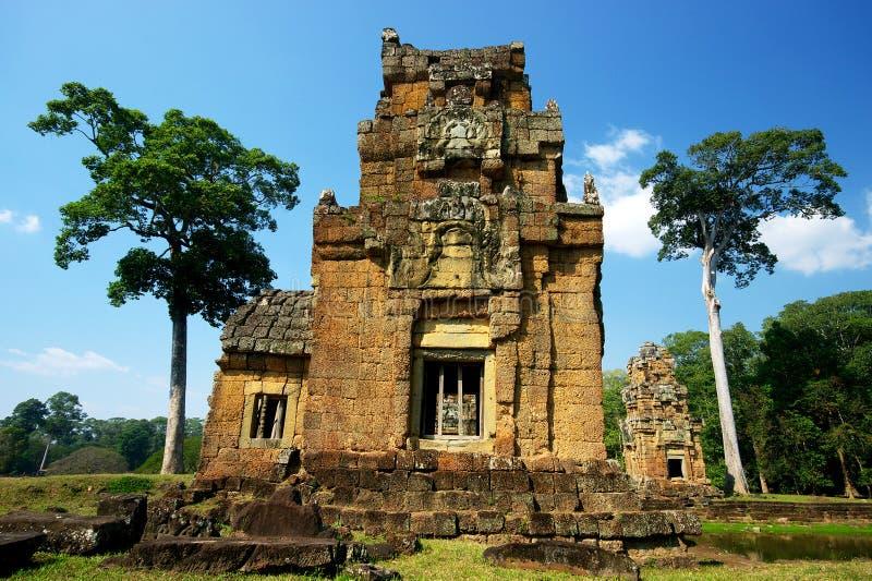 Download Ancient Angkor Ruins stock photo. Image of asian, buddhist - 13400888