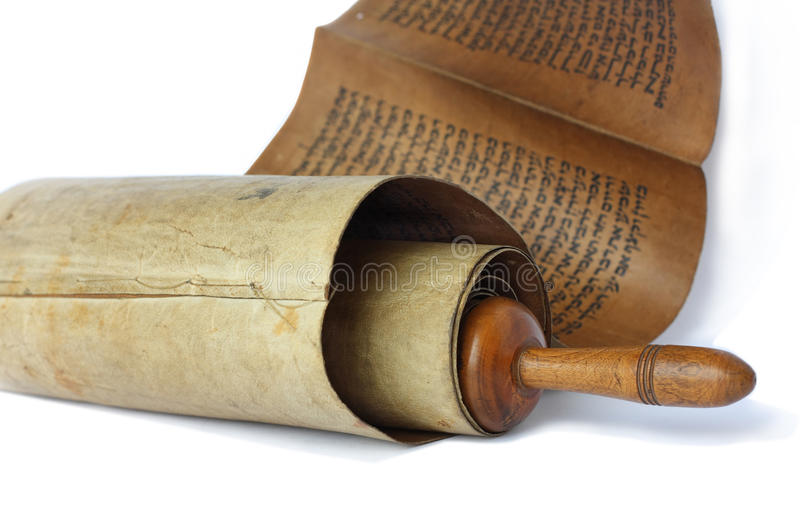 Ancient antique scroll stock photography