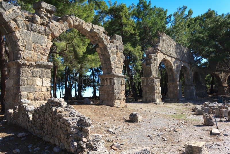 Ancient Aqueduct royalty free stock photos