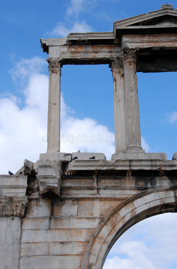 Ancient Arch royalty free stock photos